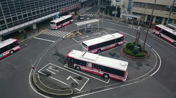 京阪バス枚方市駅ロータリー北側